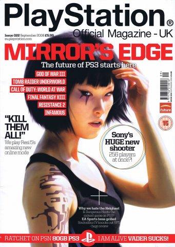 Playstation Official Magazine UK 022 (September 2008)
