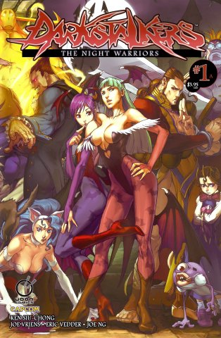 Darkstalkers: The Night Warriors 01 (February 2010) (Cover A)