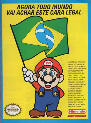 Nintendo Official Brazil Playtronic