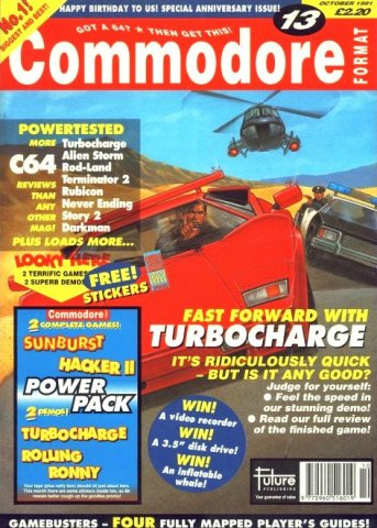 Commodore Format Issue 13 (October 1991)