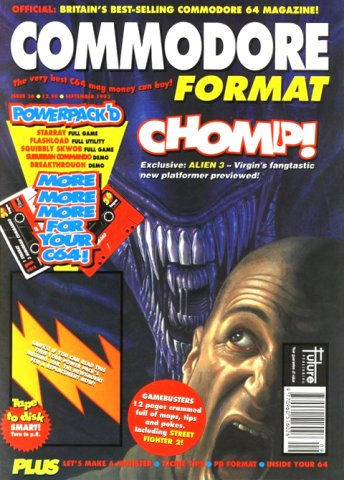 Commodore Format Issue 36 (September 1993)