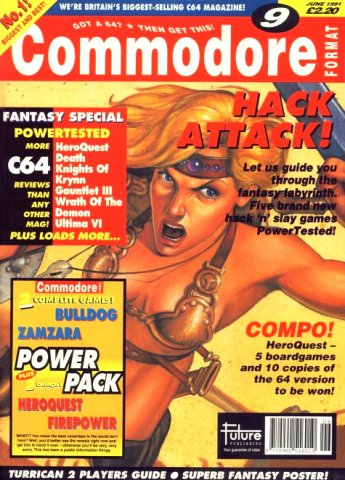 Commodore Format Issue 09 (June 1991)