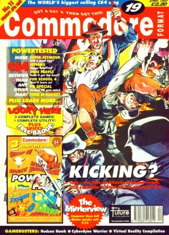 Commodore Format Issue 19 (April 1992)
