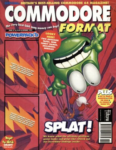 Commodore Format Issue 37 (October 1993)
