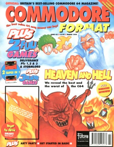 Commodore Format Issue 42 (March 1994)