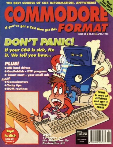 Commodore Format Issue 55 (April 1995)