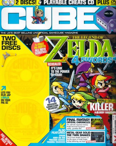 Cube Issue 30 (April 2004)