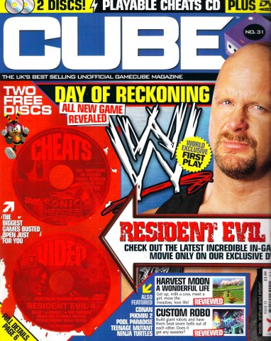 Cube Issue 31 (May 2004)