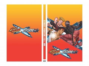 Street Fighter X G.I.JOE 001 (February 2016) (complete box set)
