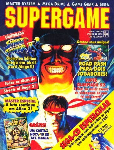SuperGame 20 (March 1993)