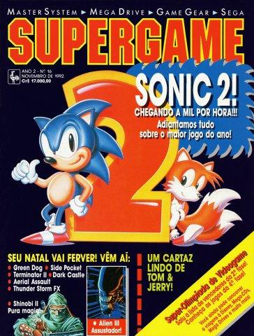 SuperGame 16 (November 1992)