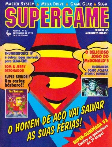 SuperGame 17 (December 1992)