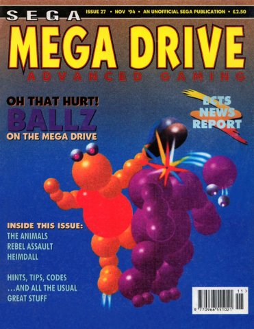 Mega Drive Advanced Gaming 27 (November 1994)