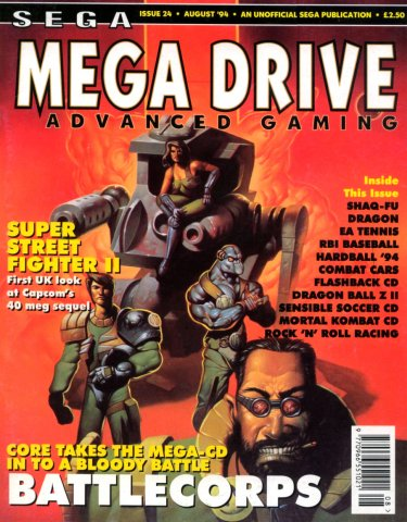 Megadrive Advanced Gaming 24 (August 1994)