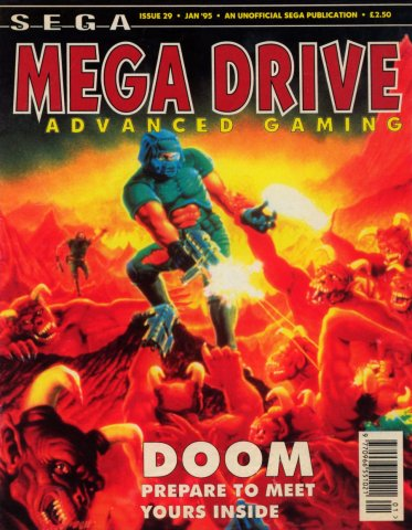 Megadrive Advanced Gaming 29 (January 1995)