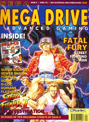 Megadrive Advanced Gaming 08 (April 1993)