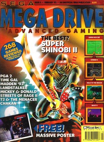 Mega Drive Advanced Gaming 06 (February 1993)