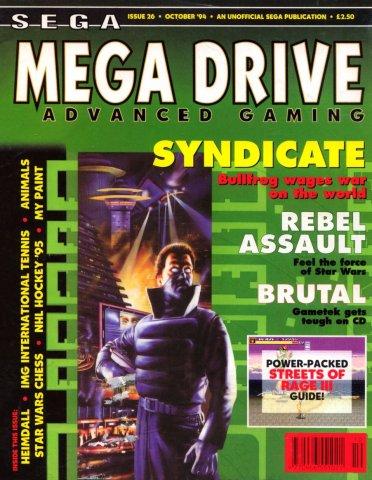 Mega Drive Advanced Gaming 26 (October 1994)