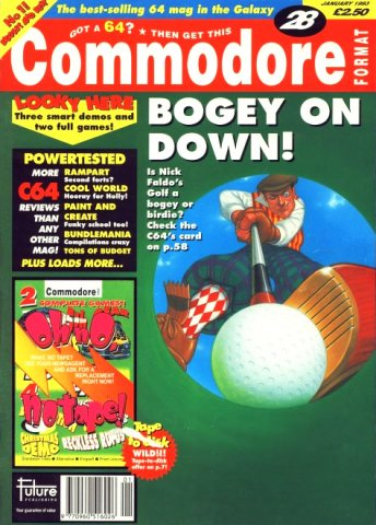 Commodore Format Issue 28 (January 1993)
