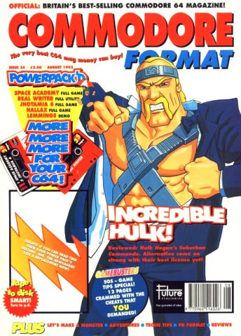 Commodore Format Issue 35 (August 1993)
