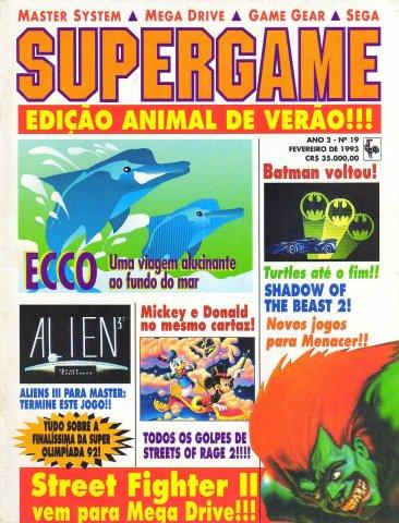 SuperGame 19 (February 1993)