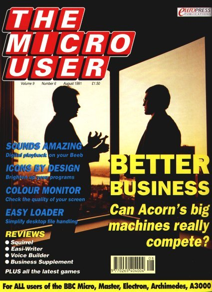 The Micro User Vol.09 No.06 (August 1991)