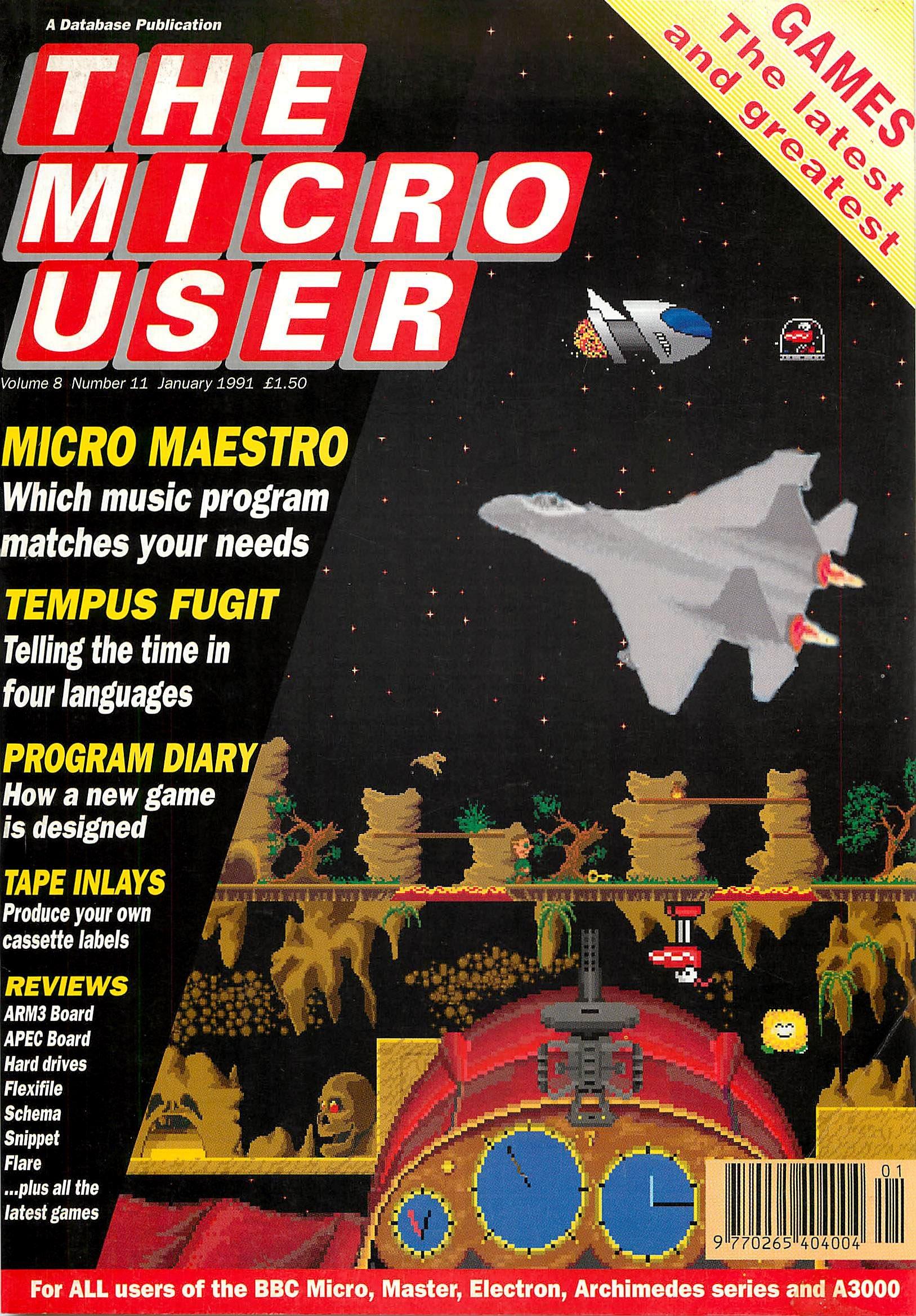 The Micro User Vol.08 No.11 (January 1991)