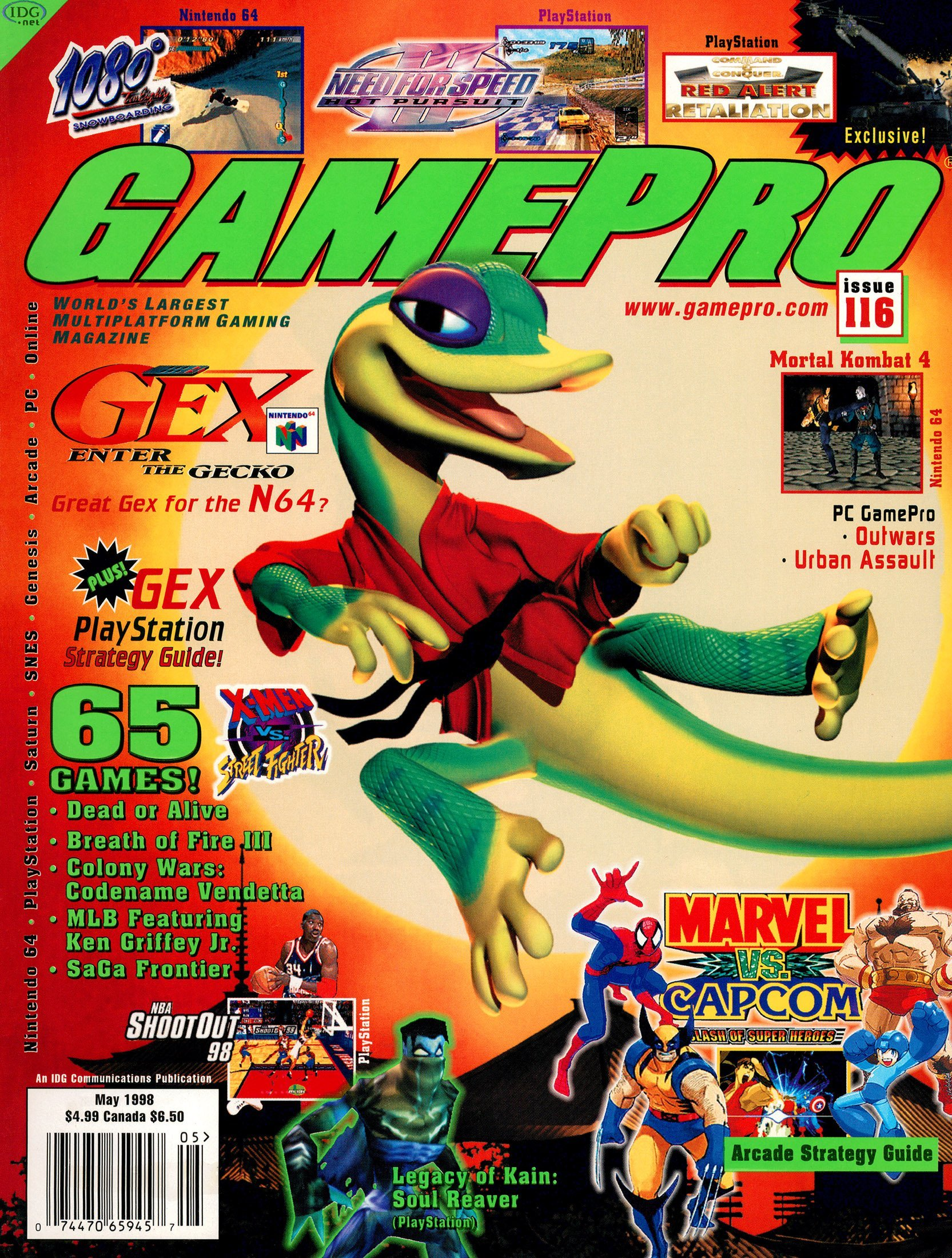 GamePro Issue 116 May 1998
