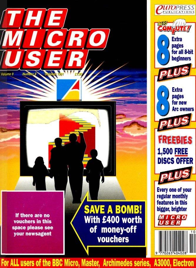 The Micro User Vol.09 No.08 (October 1991)