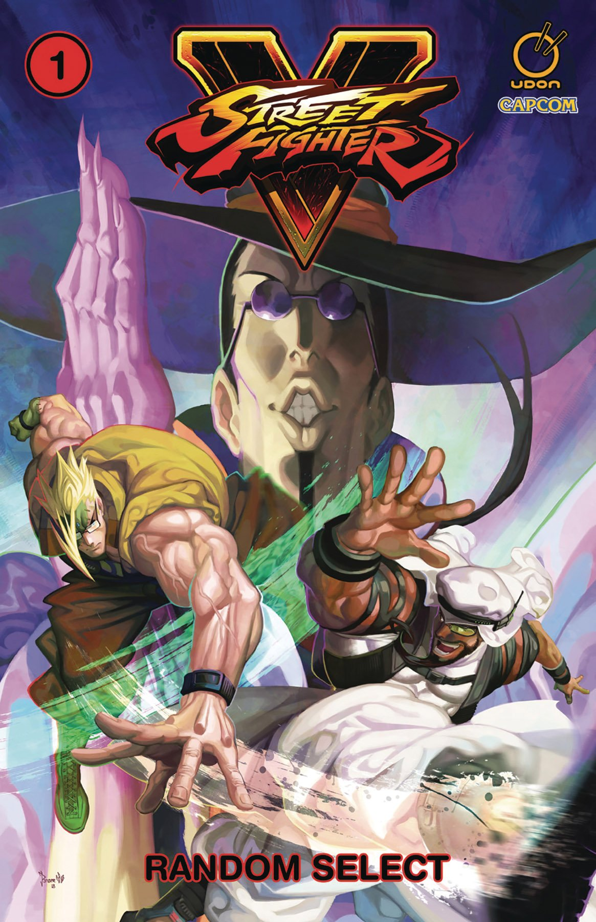 Street Fighter V TPB Vol.1 - Random Select