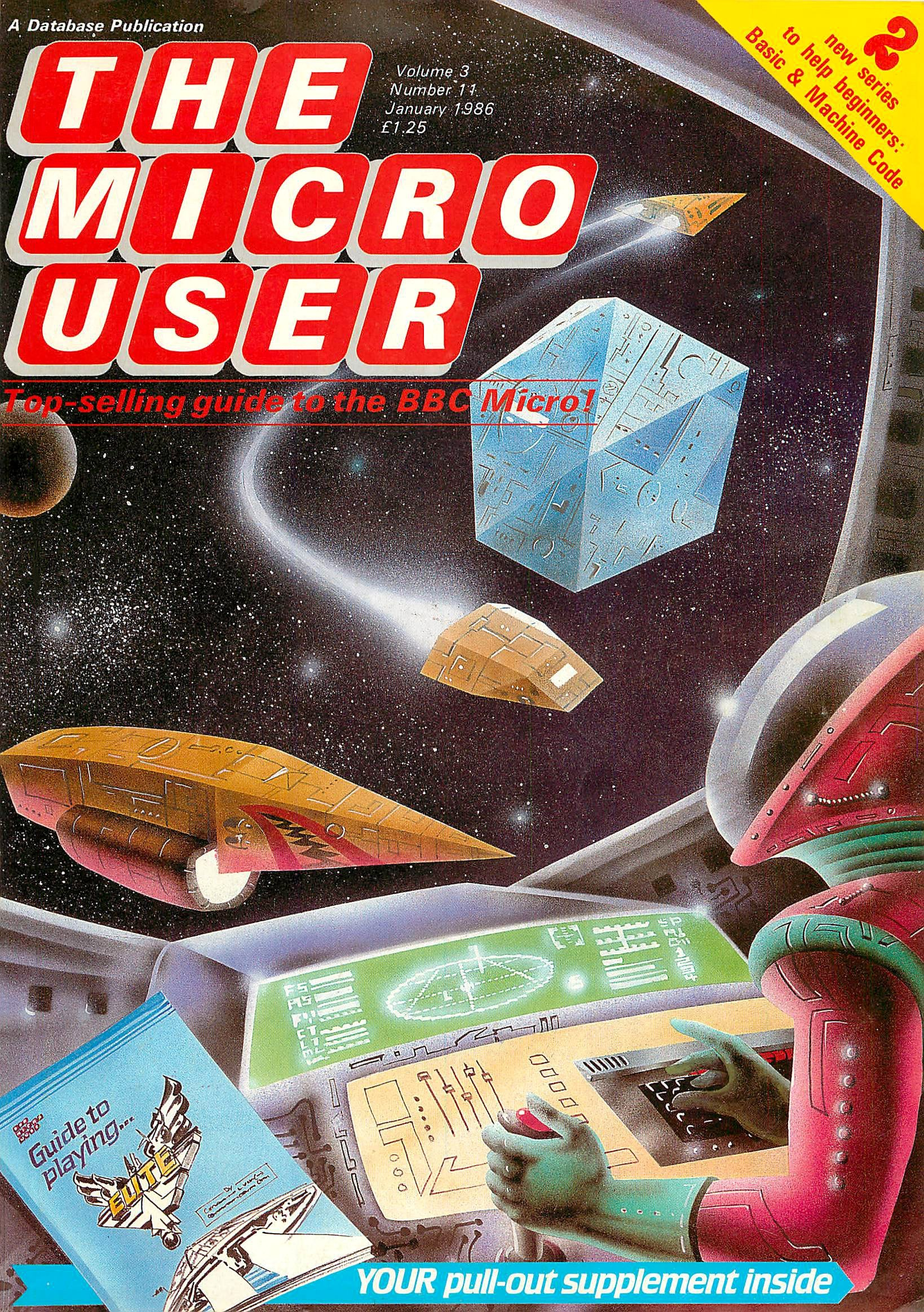 The Micro User Vol.03 No.11 (January 1986)