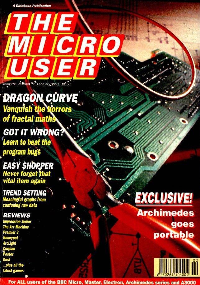 The Micro User Vol.08 No.12 (February 1991)