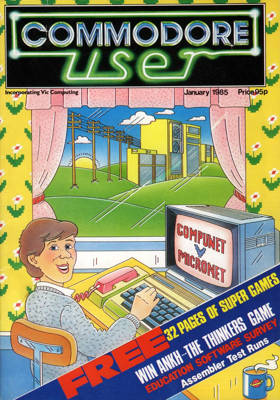 Commodore User Issue 16 (January 1985)
