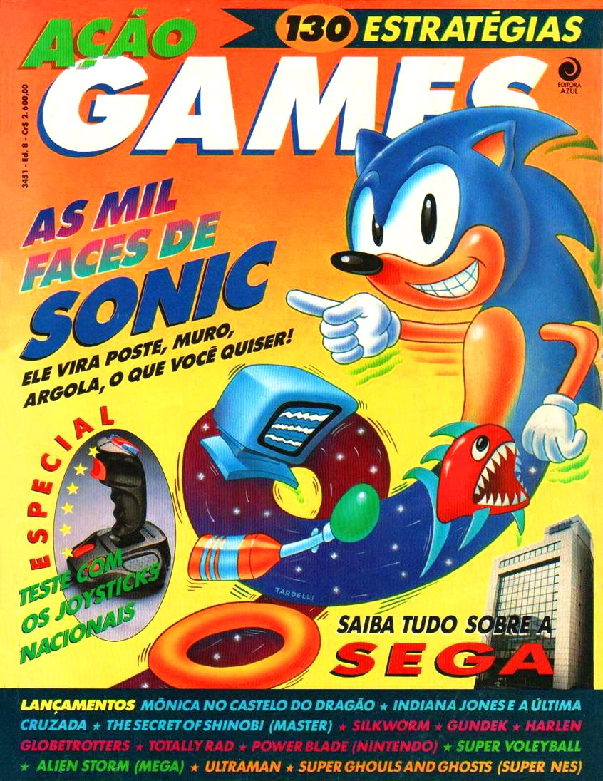 Acao Games Issue 008 (December 1991)