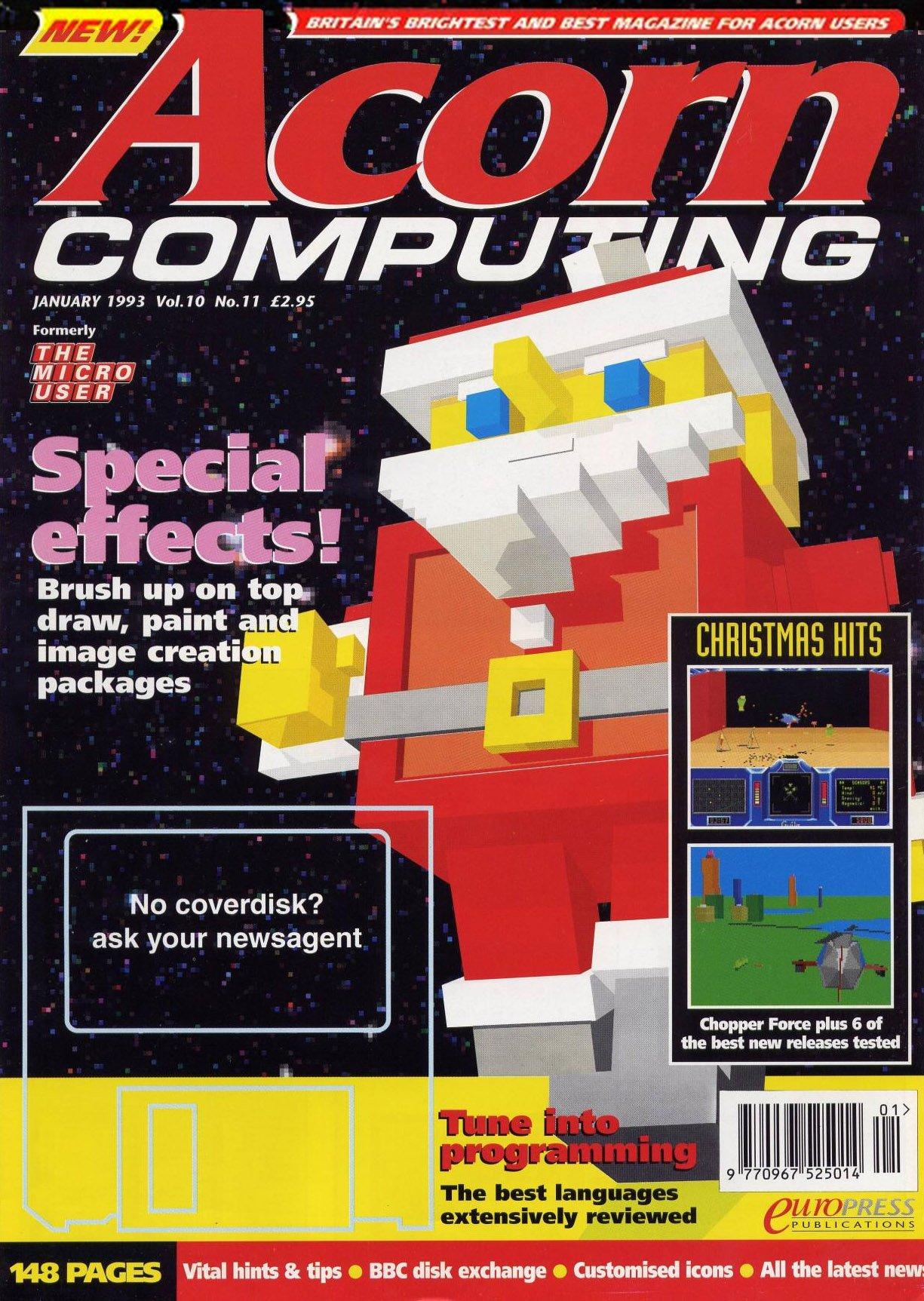 Acorn Computing Vol.10 No.11 (January 1993)