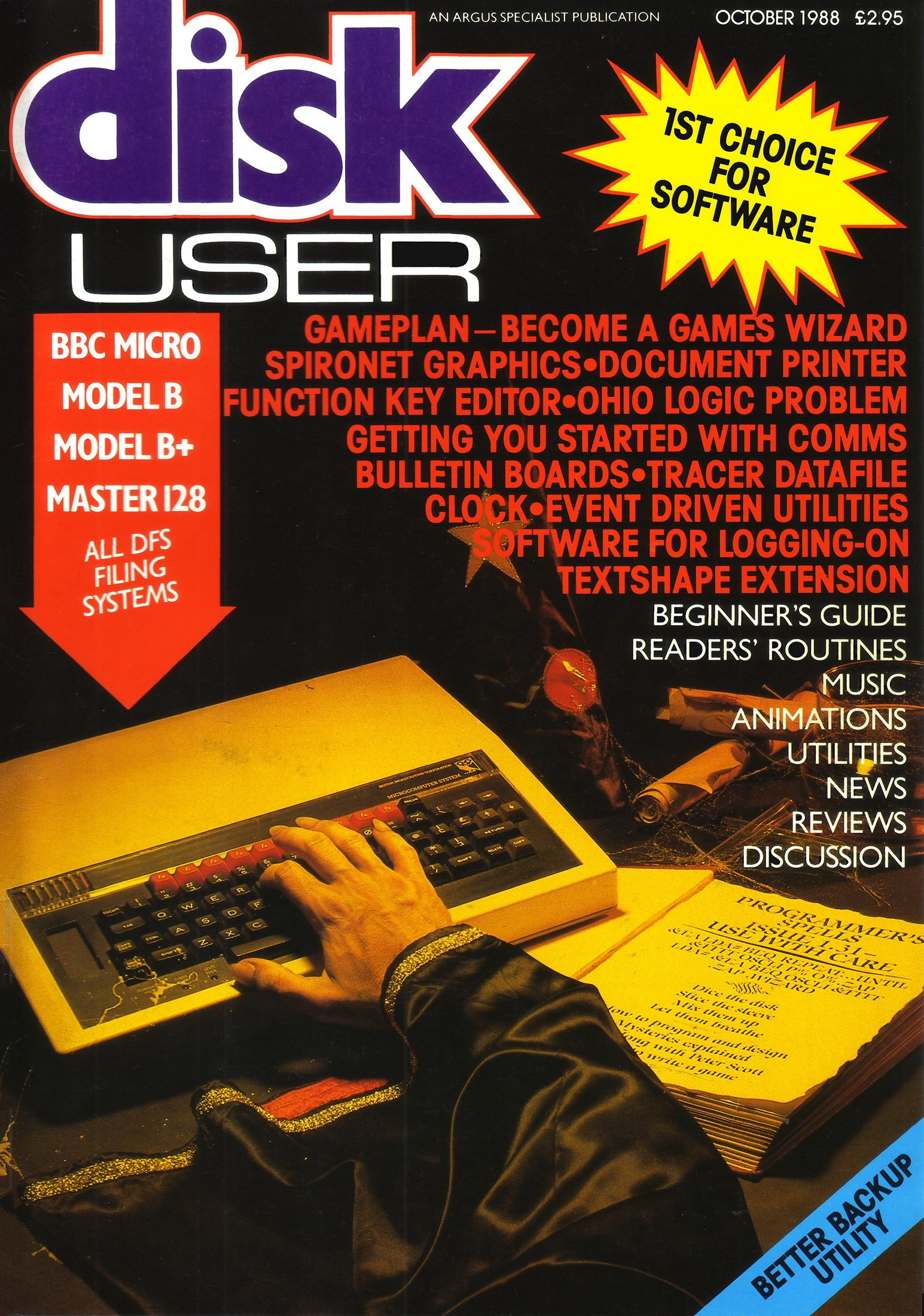 Disk User Issue 12 (October 1988)