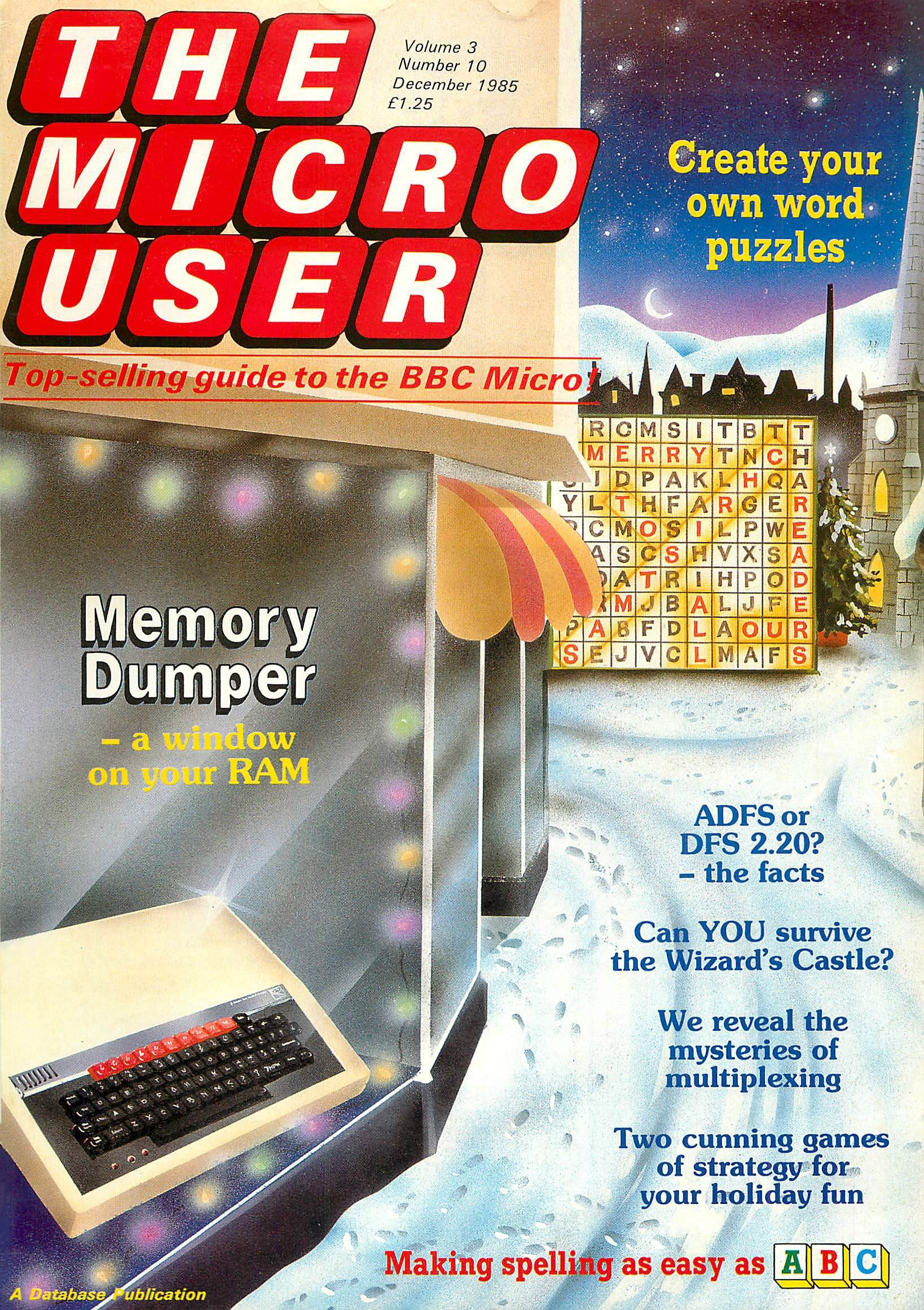 The Micro User Vol.03 No.10 (December 1985)