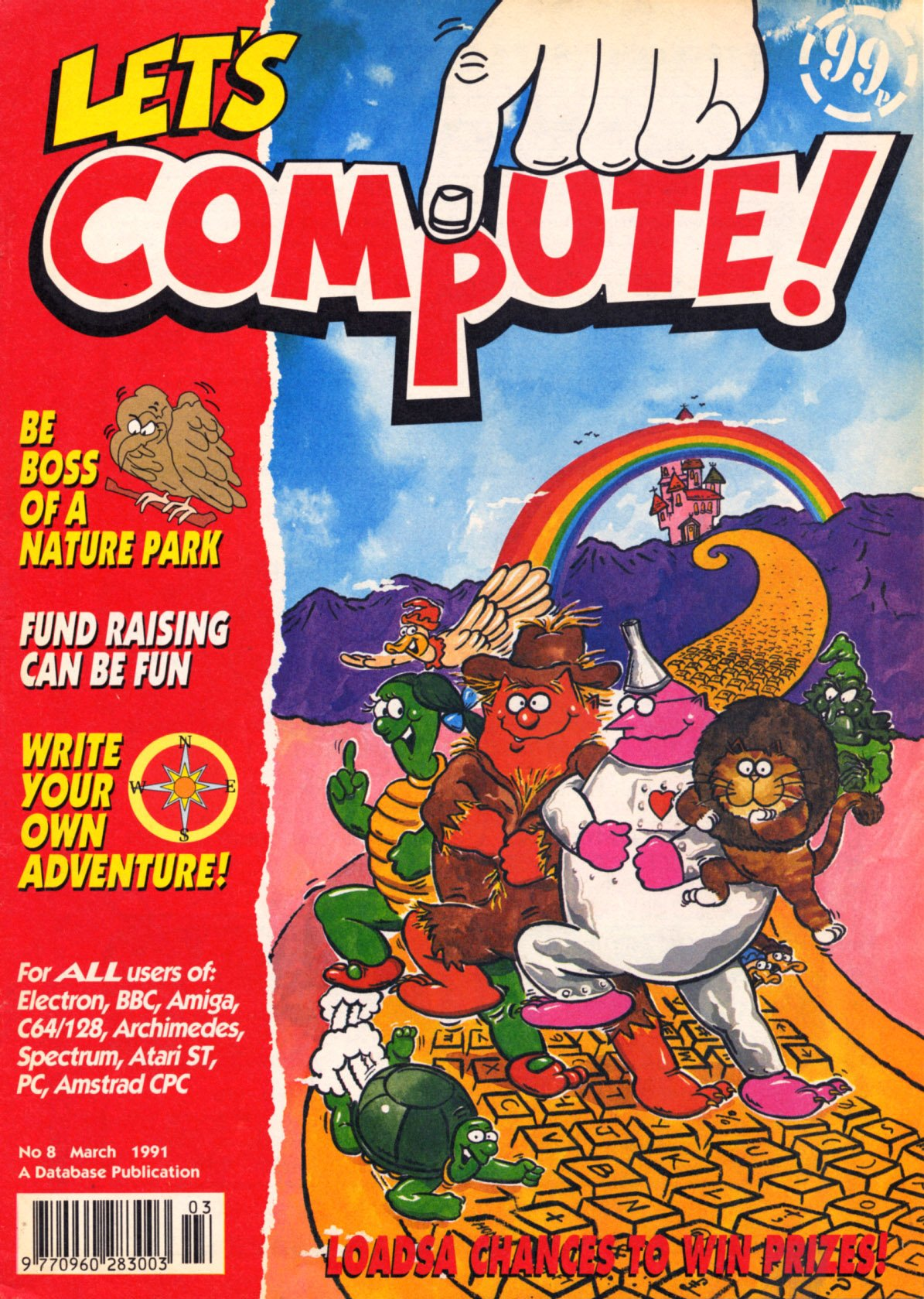 Let's Compute Issue 08 (March 1991)