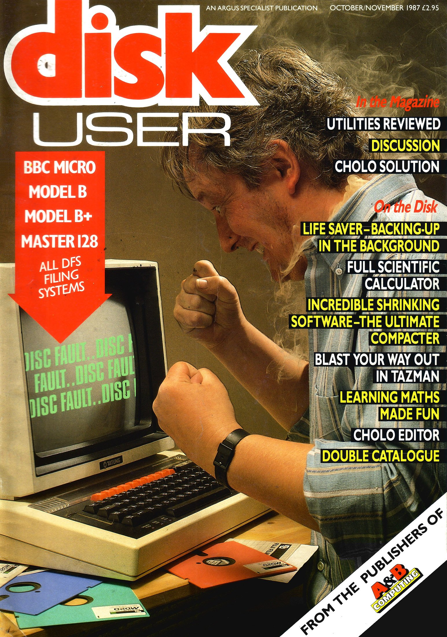 Disk User Issue 03 (October/November 1987)