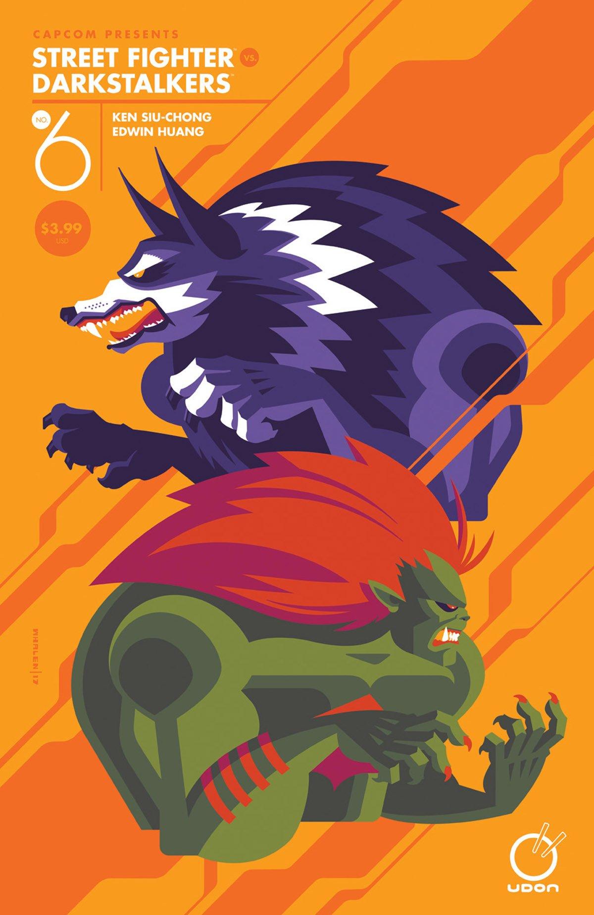 Street Fighter VS Darkstalkers 006 (September 2017) (cover B)