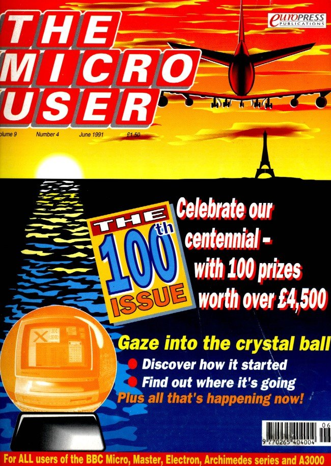 The Micro User Vol.09 No.04 (June 1991)