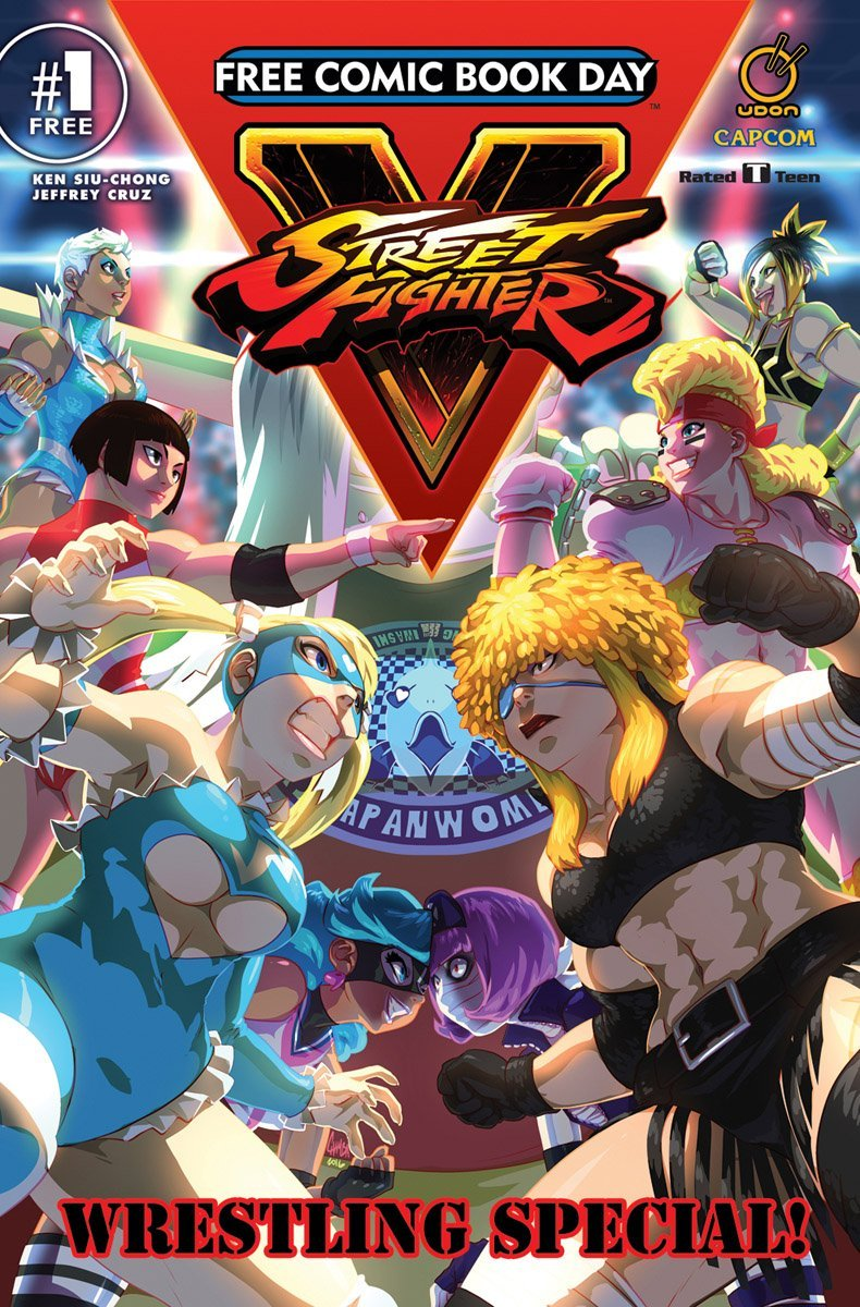 Street Fighter V: Wrestling Special - Free Comic Book Day 2017 (May 2017)