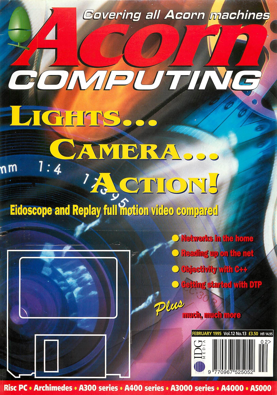 Acorn Computing Vol.12 No.13 (February 1995)