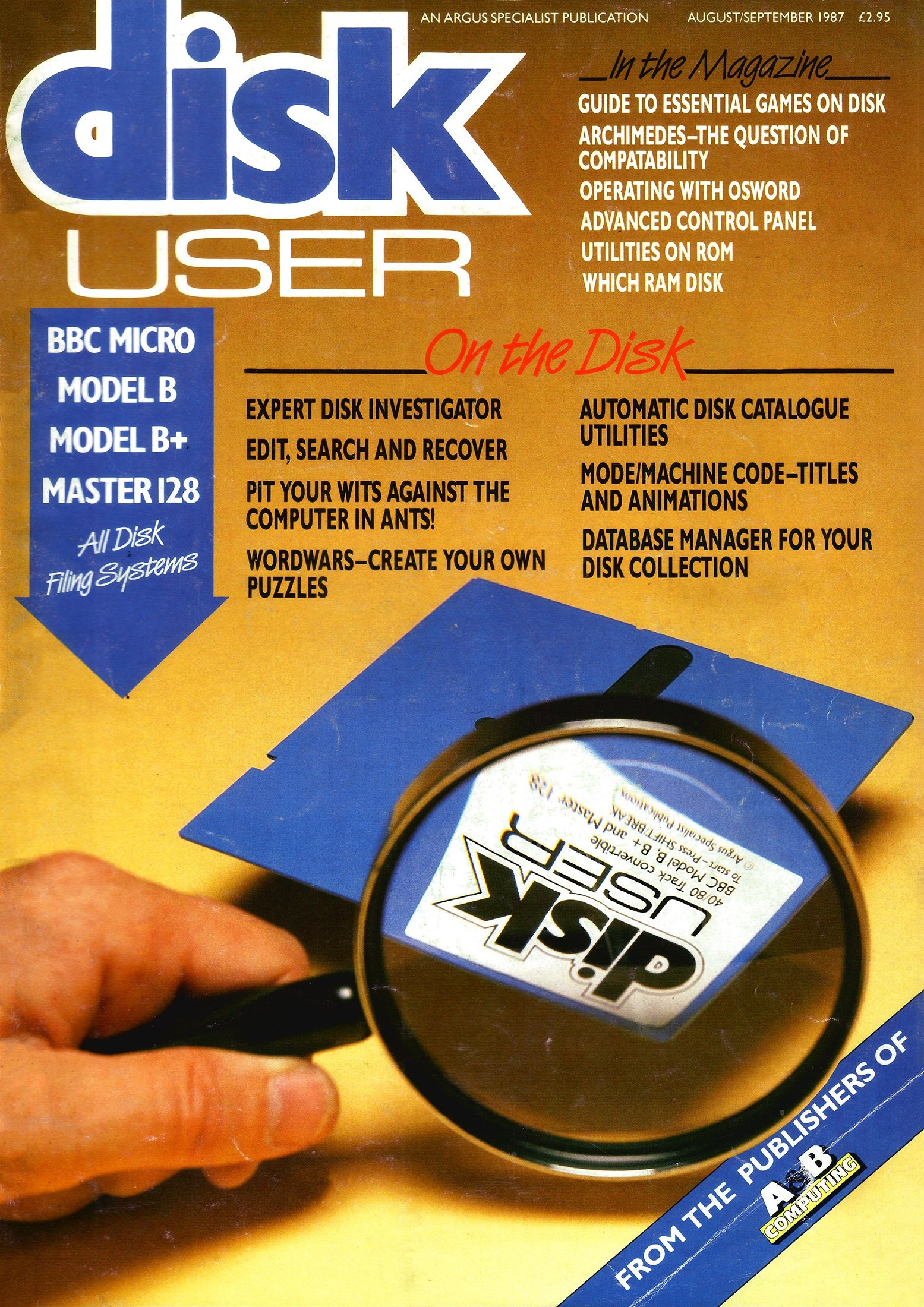 Disk User Issue 02 (August/September 1987)