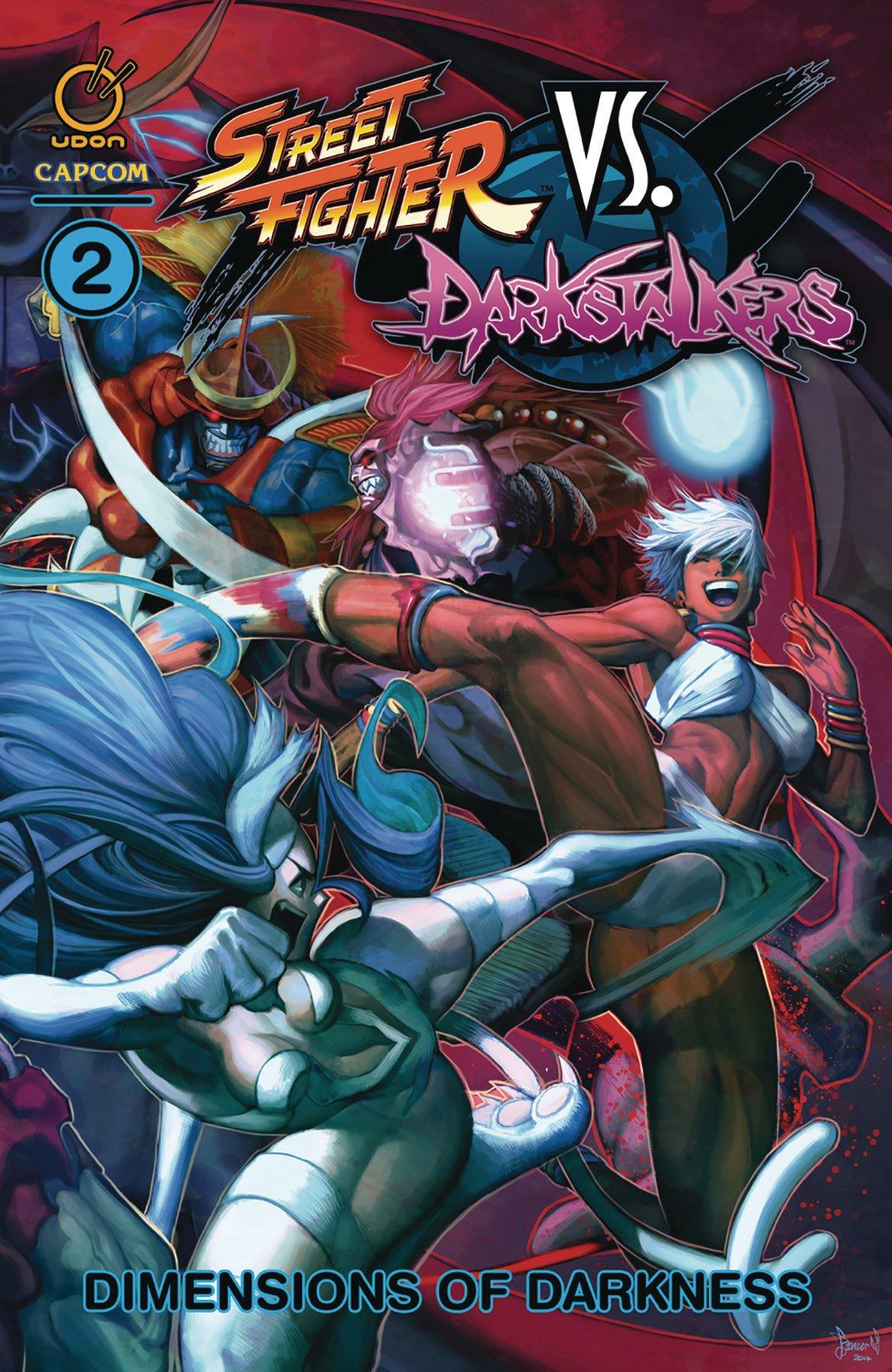 Street Fighter VS Darkstalkers TPB 2 - Dimensions of Darkness