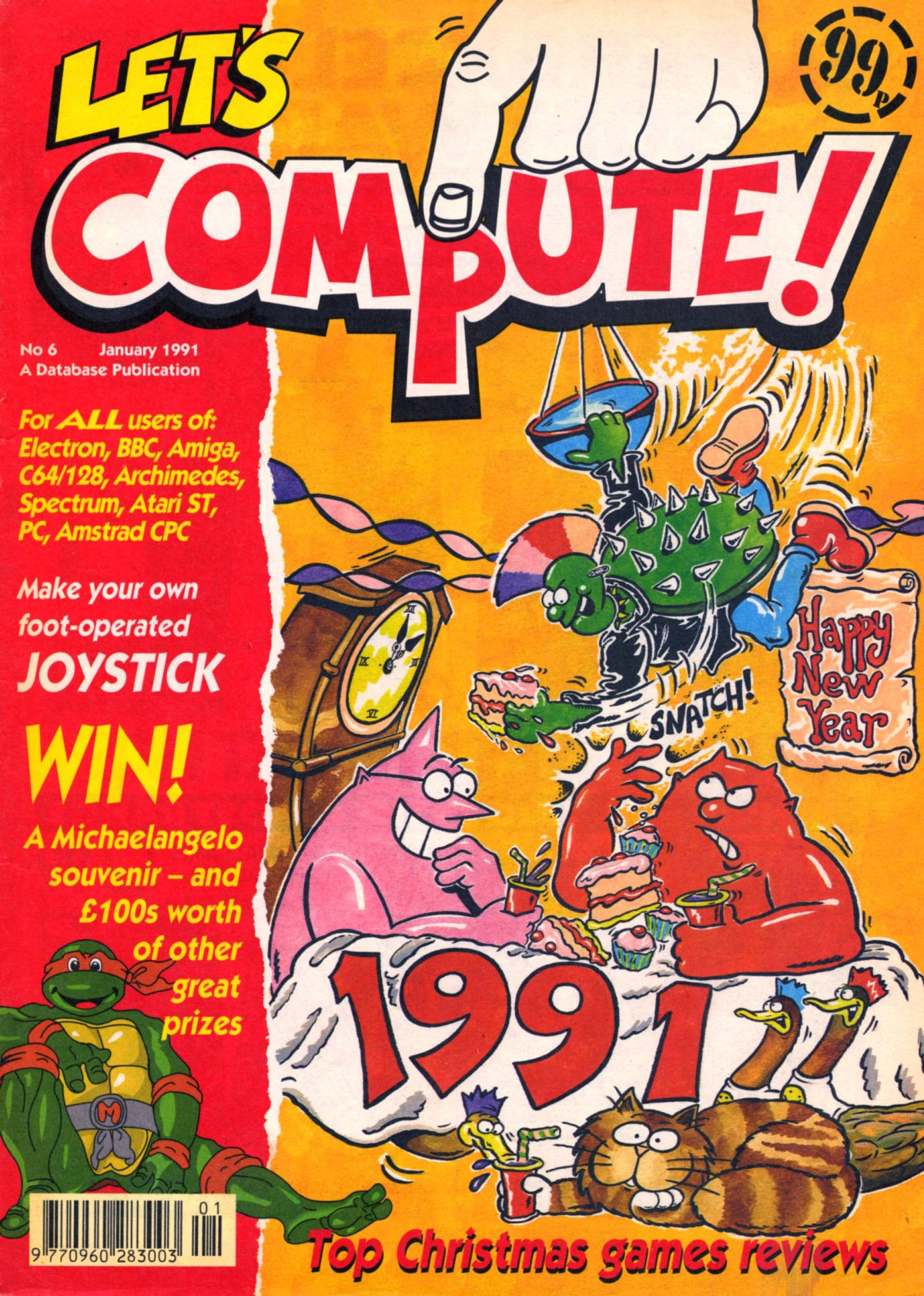 Let's Compute Issue 06 (January 1991)