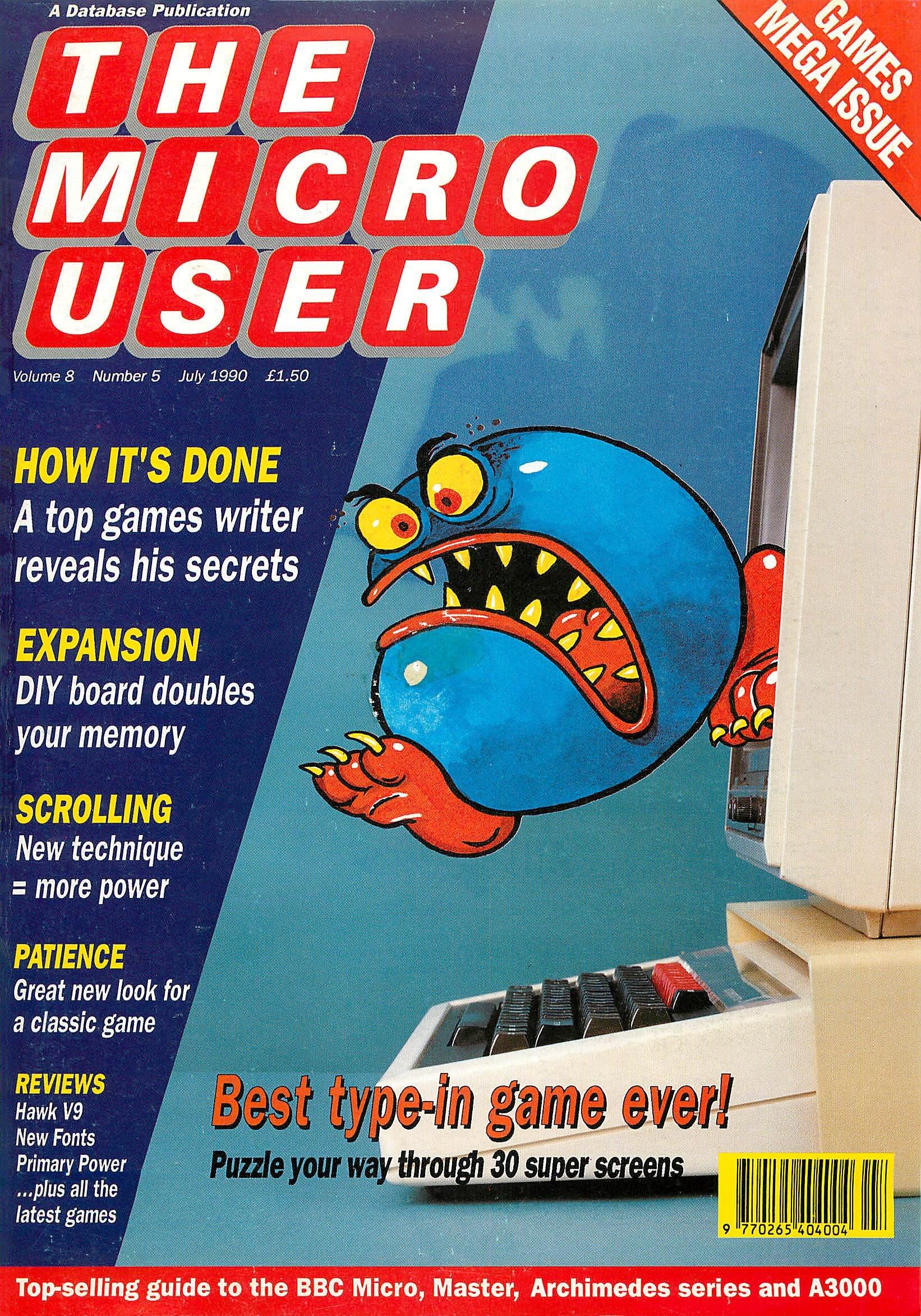 The Micro User Vol.08 No.05 (July 1990)