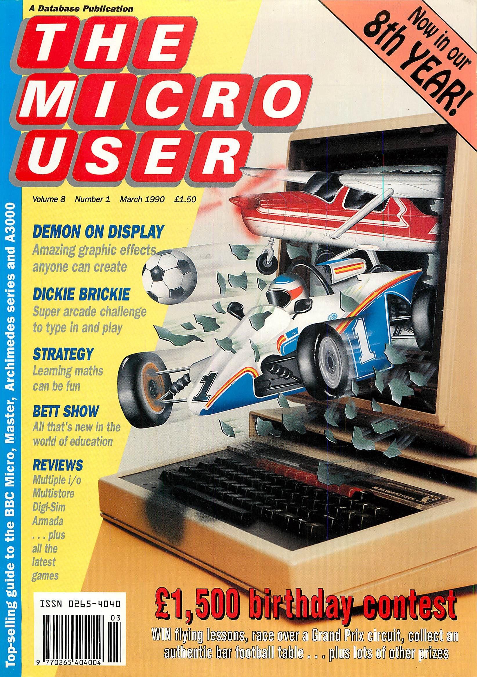 The Micro User Vol.08 No.01 (March 1990)