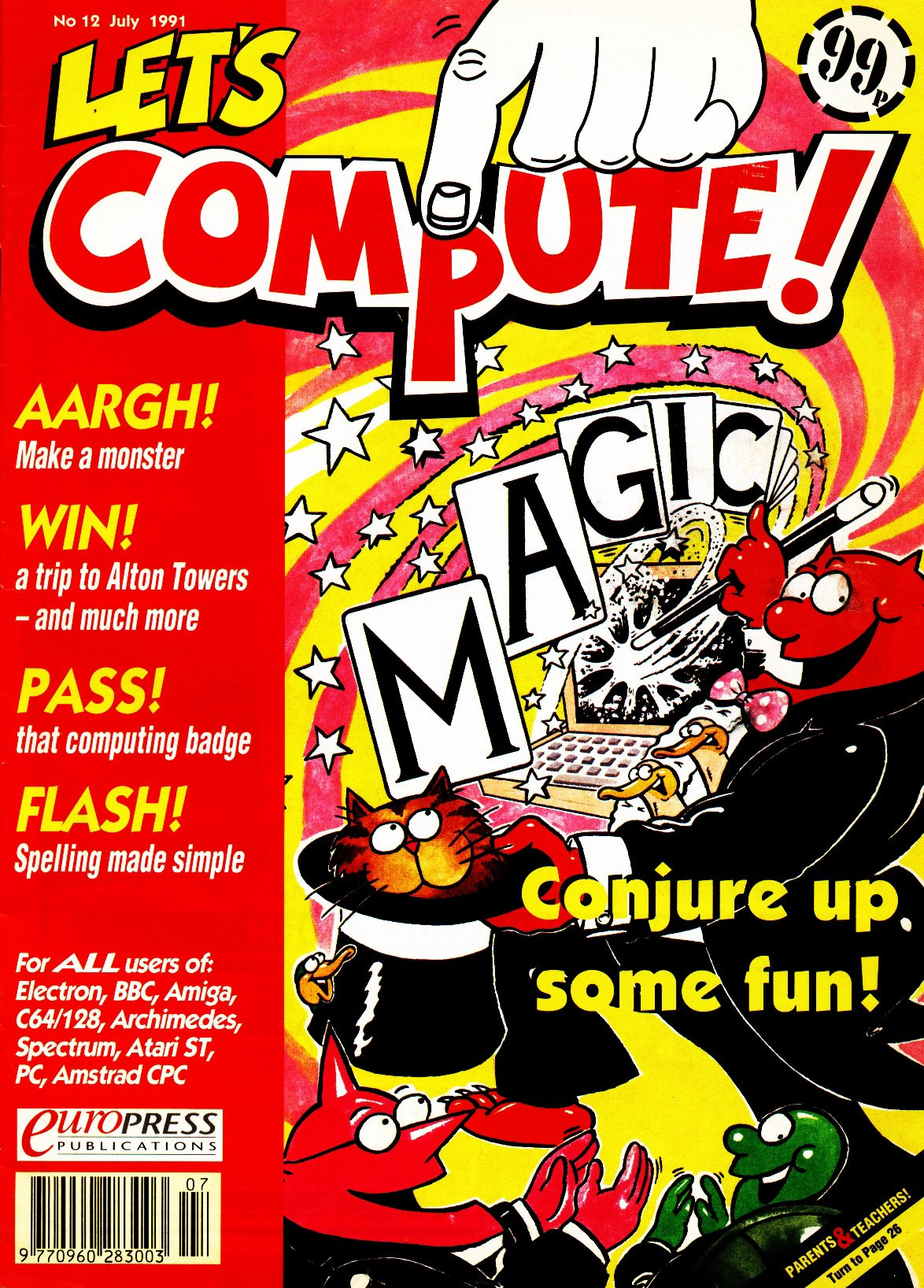 Let's Compute Issue 12 (July 1991)
