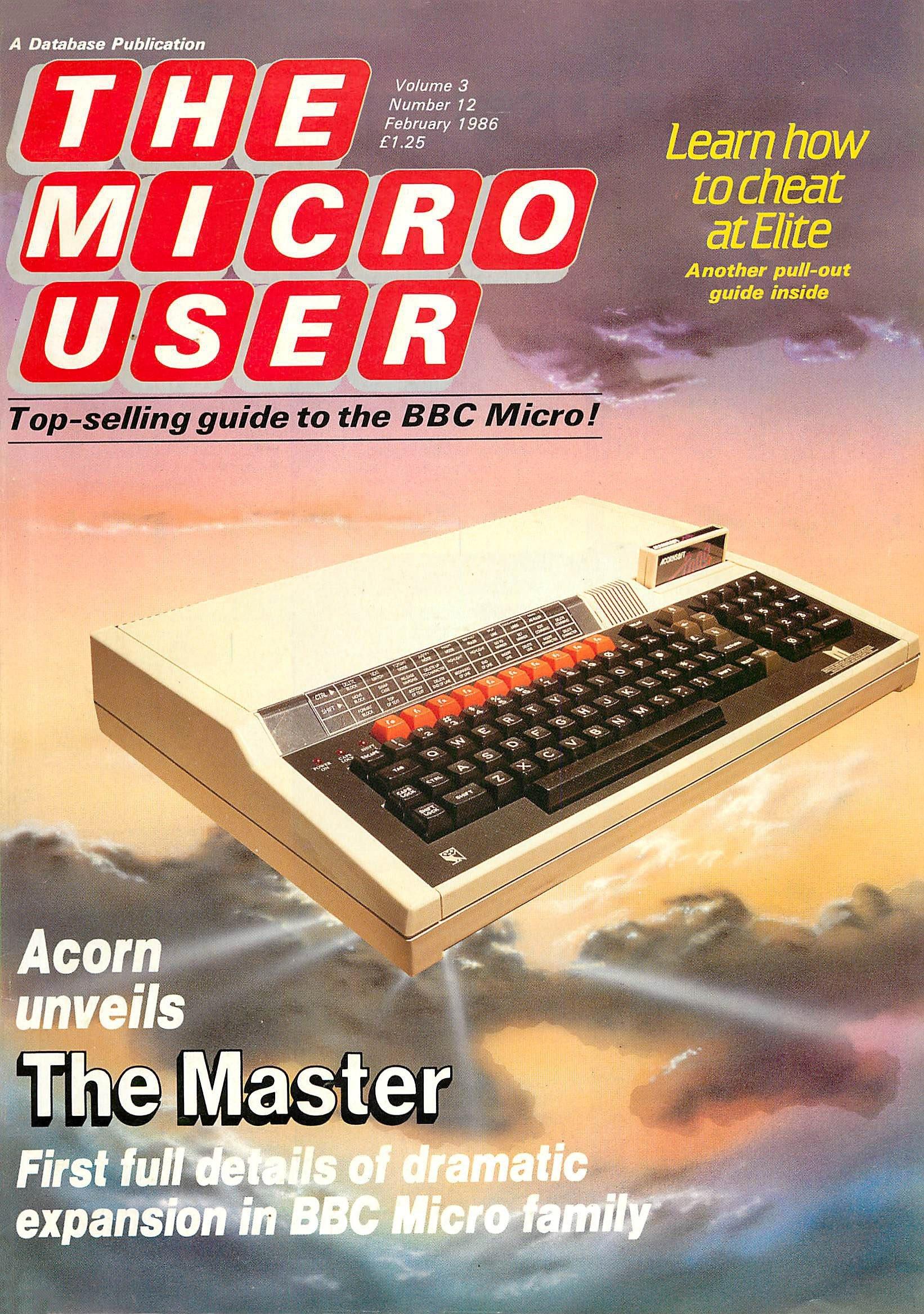 The Micro User Vol.03 No.12 (February 1986)
